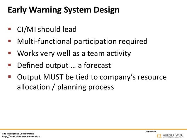 Early Warning Score System Early Warning System Design