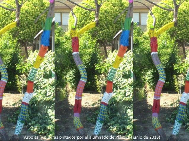 2013 06 19 piedras y arboles pintados