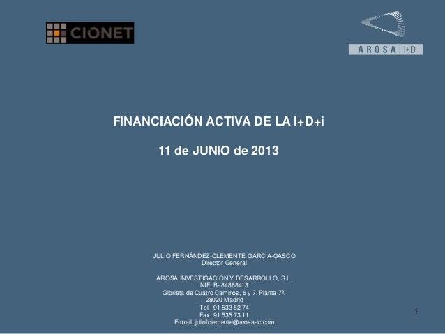 201306 Innovacion Incentivos Fiscales I+D+I