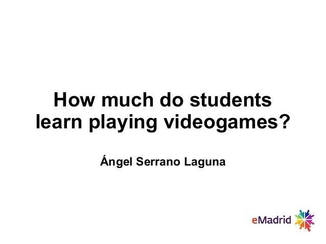 2013 07 05 (uc3m) lasi emadrid aserrano ucm game analytics videojuegos educativos
