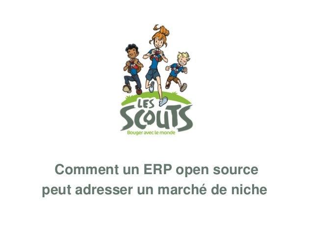 Adresser un marché de niche avec un ERP Open source