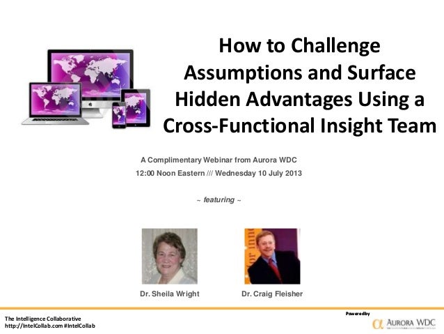How to Challenge Assumptions and Surface Hidden Advantages Using a Cross-Functional Insight Team