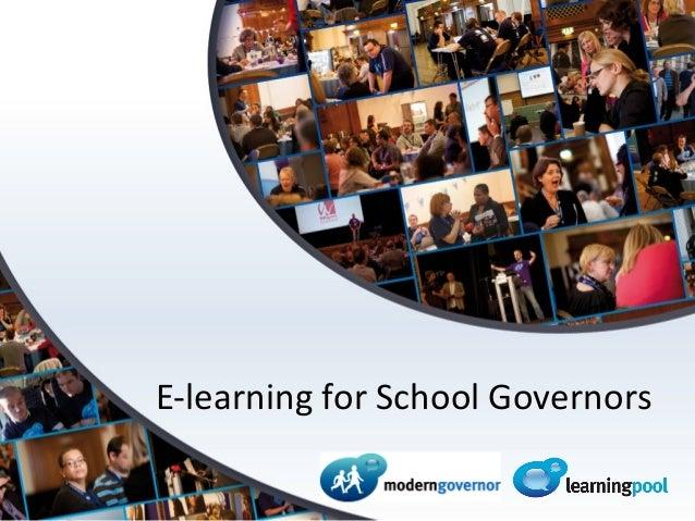Modern Governor for Bristol School Governors, July 2013