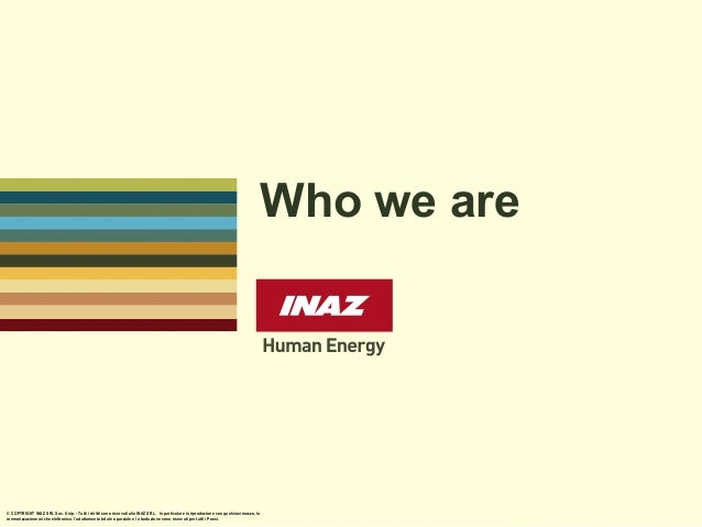 INAZ, who we are