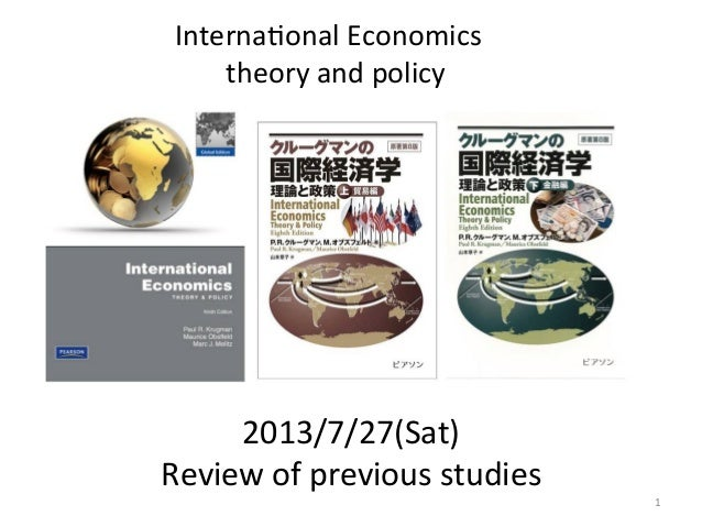 2013/7/27(Sat)	    Review	   of	   previous	   studies