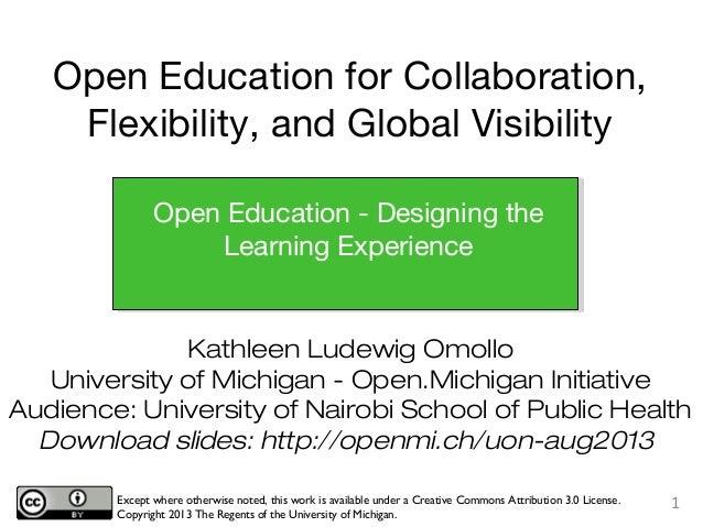 Open Pedagogy and Edu Design