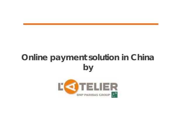 3rd party payment landscape in China by L'Atelier