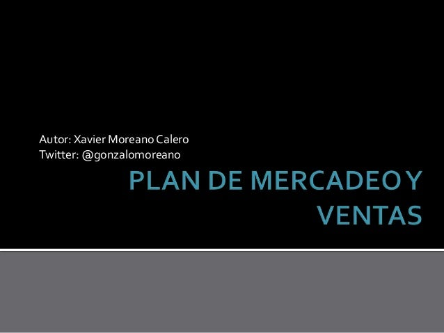Planeacion de Marketing y Ventas (2013-09)