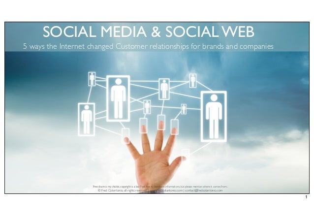 Web Trends - Usages connectés et stratégie de visibilité sur le web social (version 2013)