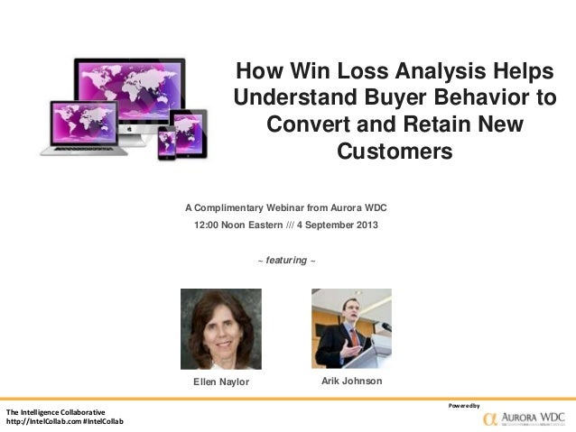 The Intelligence Collaborative http://IntelCollab.com #IntelCollab Poweredby How Win Loss Analysis Helps Understand Buyer ...