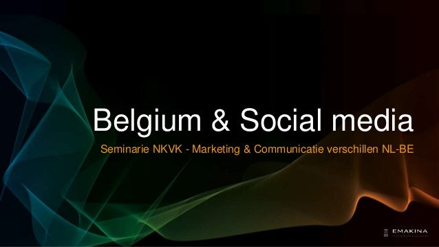 Differences between the Netherlands and Belgium on Social Media