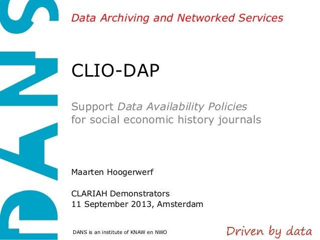 CLIO-DAP