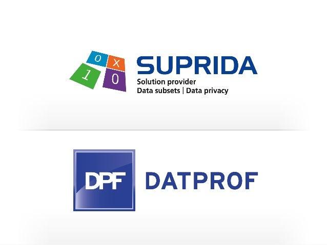 Test Data Management Diensten - Advies - Implementatie - Proof of Concept - Business Case - Risico analyse Tools - DATPROF...