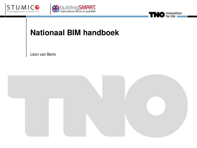 Nationaal BIM Handboek.... een introductie