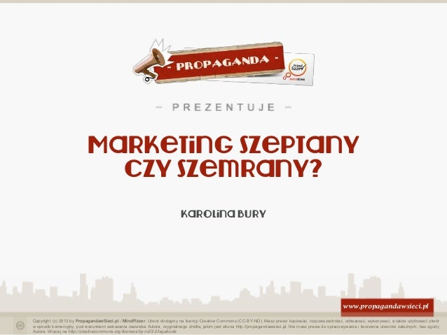 Marketing szeptany czy szemrany?
