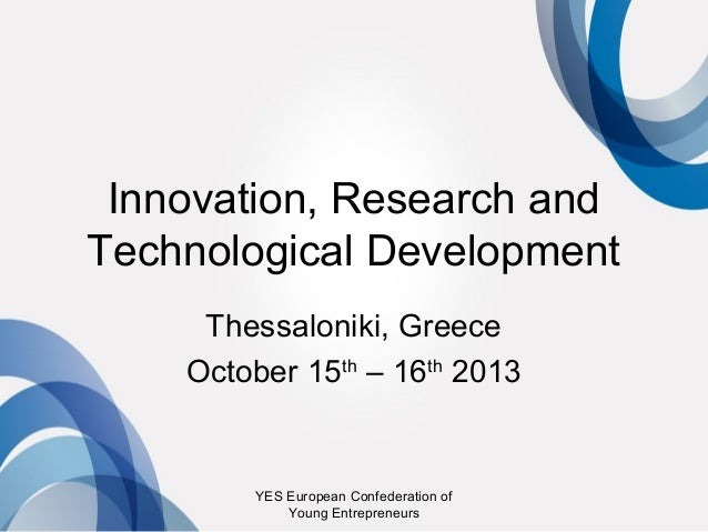 Research Entrepreneurship Europe