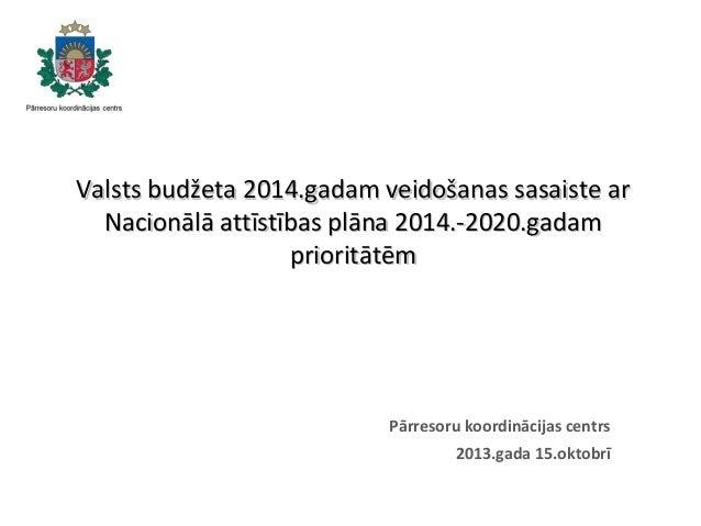 NAP2020 ieviešanas novērtējums