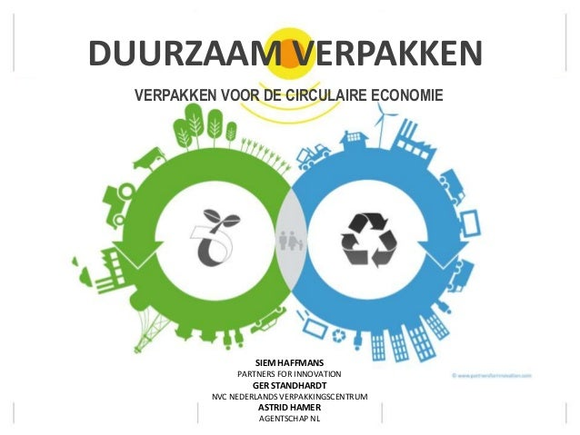 Duurzaam Verpakken, verpakken voor de circulaire economie