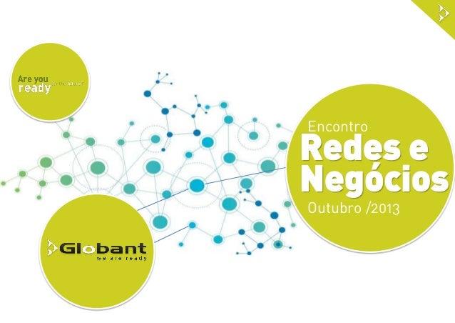 Encontro  Redes e Negócios Outubro /2013