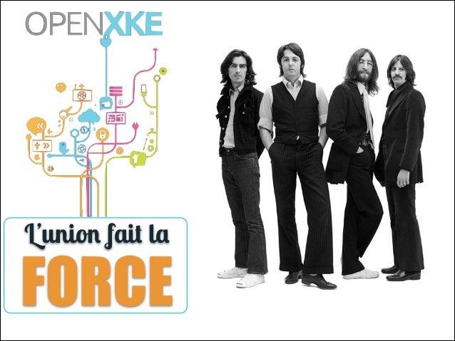 Open XKE - L'union fait la force : le rôle du design thinking dans l'innovation par Hugo Geissmann et Alexandre Irrmann-Tézé