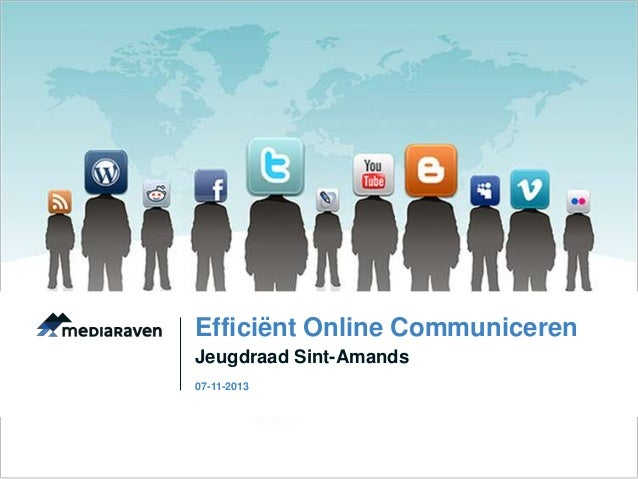 Efficiënt Online Communiceren Jeugdraad Sint-Amands 07-11-2013