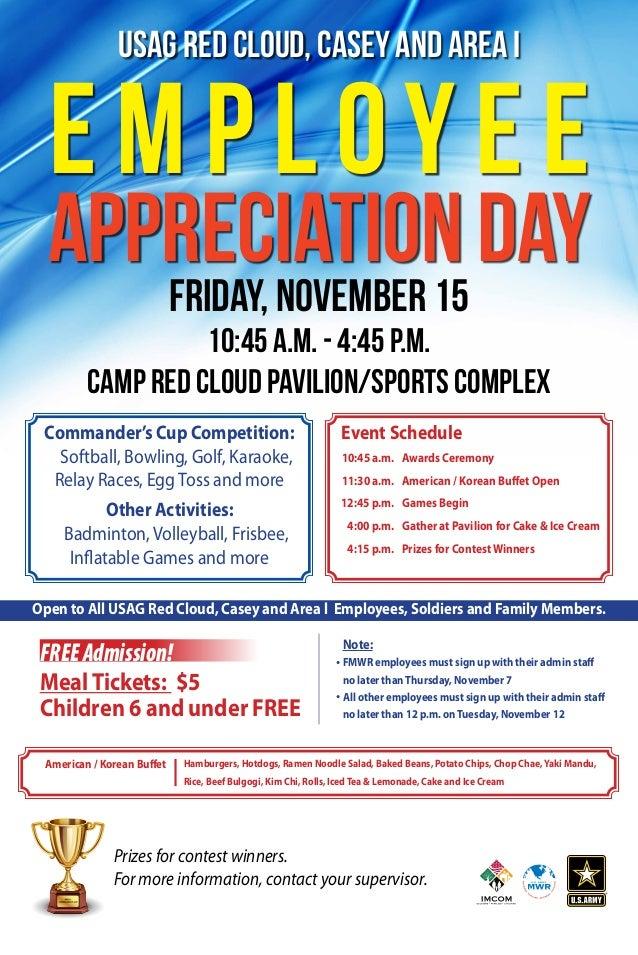 IMCOM Employee Appreciation Day