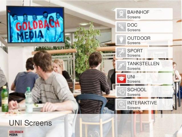 Goldbach Media Austria | UNI Screens