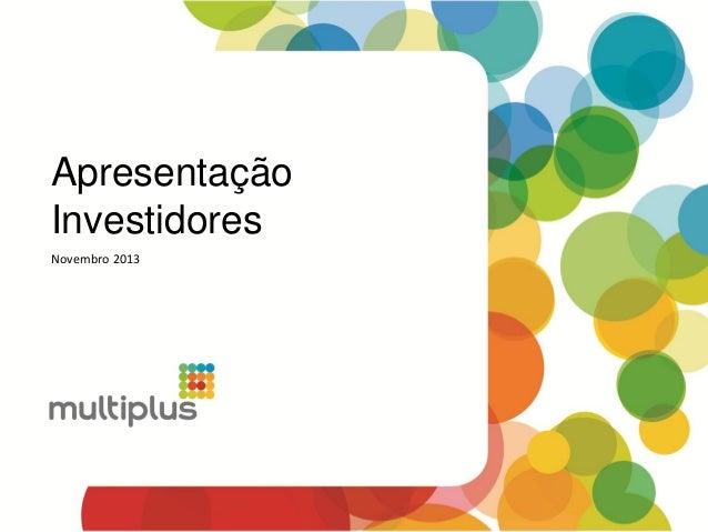 2013 11 18   investor presentation (pt)