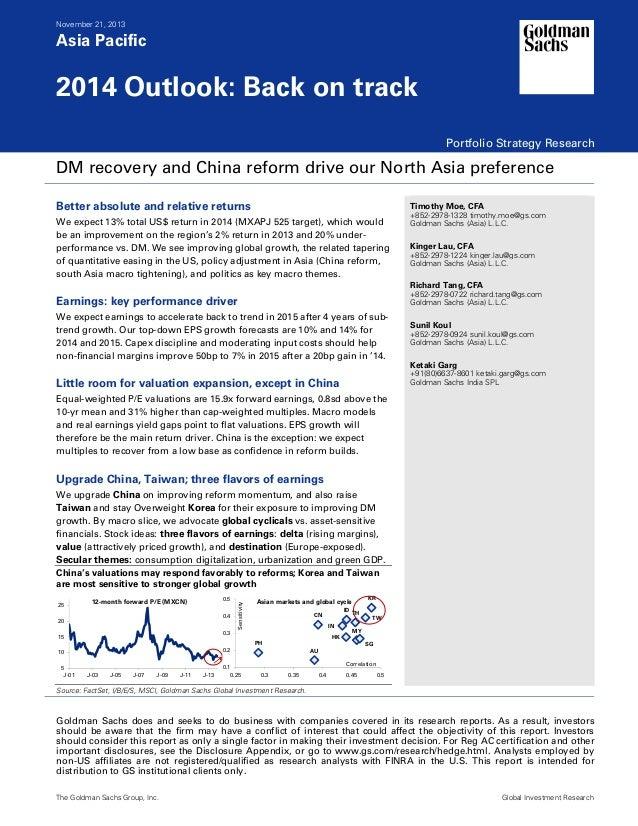 20131121 goldman sachs-asia pacific portfolio strategy 2014 outlook