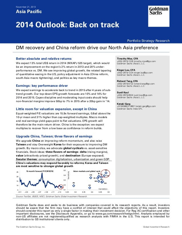 20131121 goldman sachs-asia pacific portfolio strategy 2014 outlook