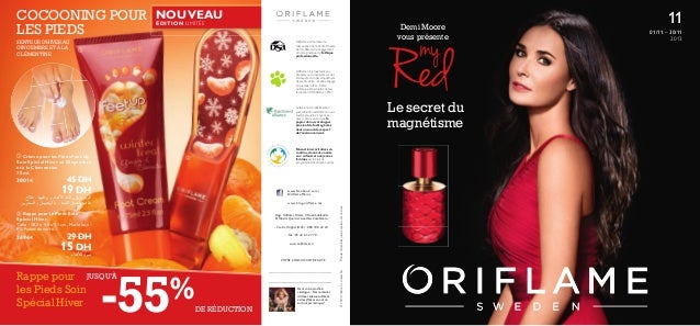 Catalogue oriflame 2013 mois 11