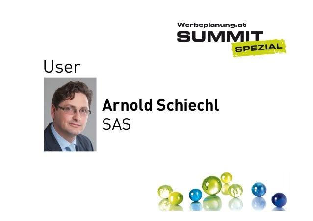 User Arnold Schiechl SAS