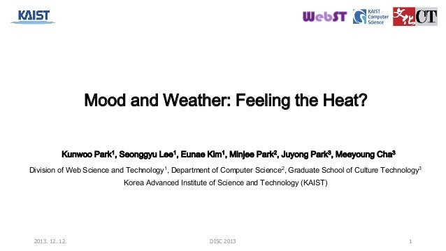 How is mood affected by weather?
