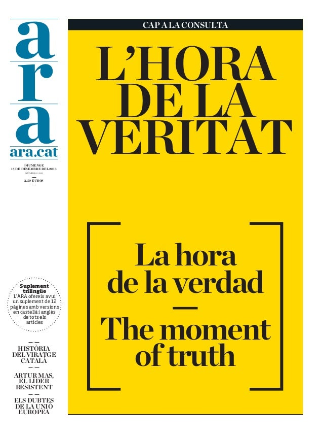 Catalonia: The Moment of Truth