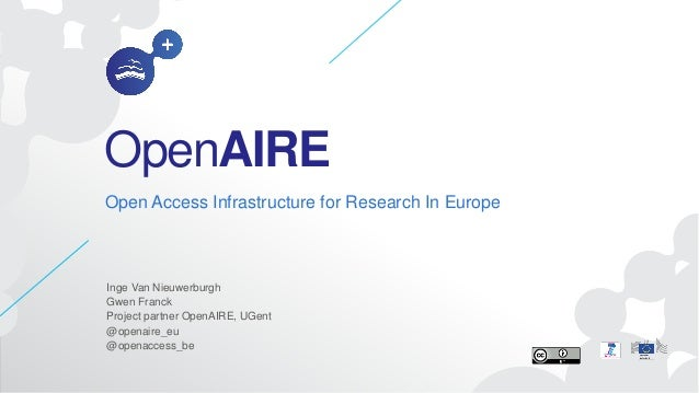 20131216 open aire-kickoffh2020projects