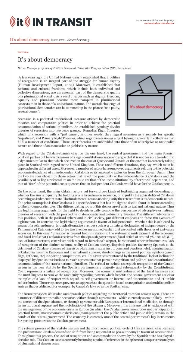 It's About Democracy (IT In Transit #22)