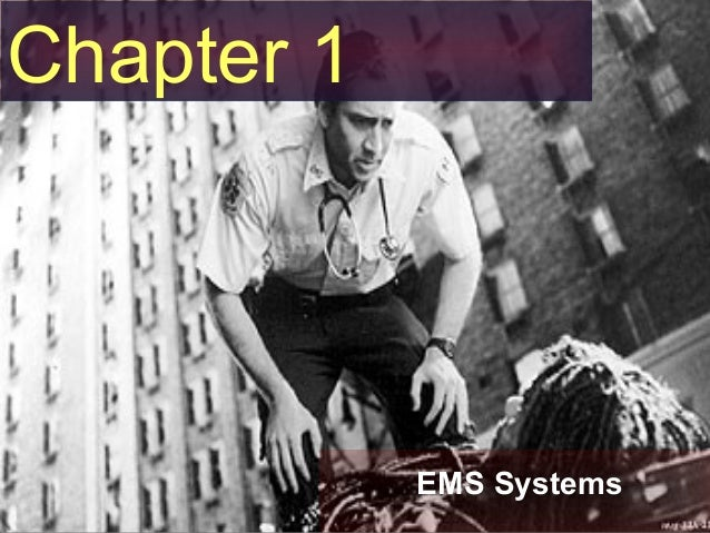 EMS Systems and History