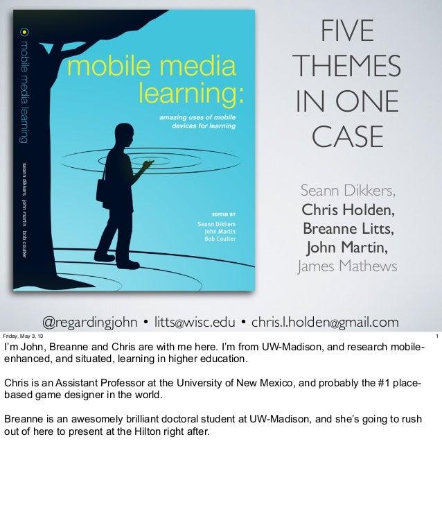 @regardingjohn • litts@wisc.edu • chris.l.holden@gmail.comSeann Dikkers,Chris Holden,Breanne Litts,John Martin,James Mathe...