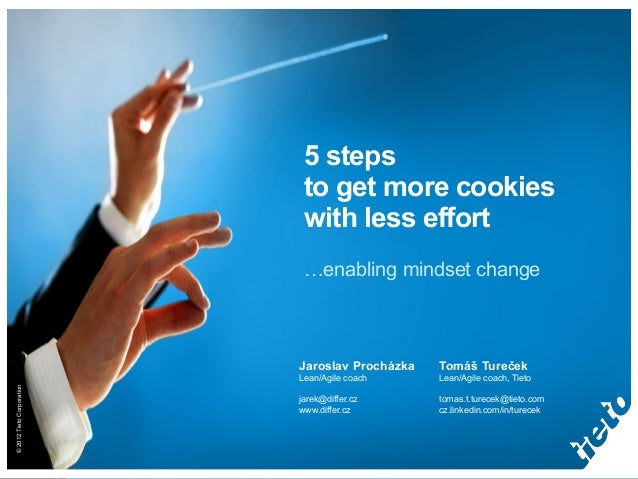 5 steps                            to get more cookies                            with less effort                        ...