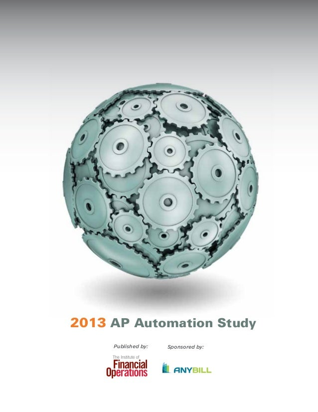 2013 AP Automation Study Sponsored by:Published by: