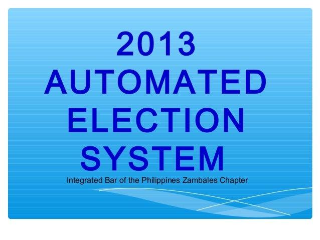 2013automatedelection