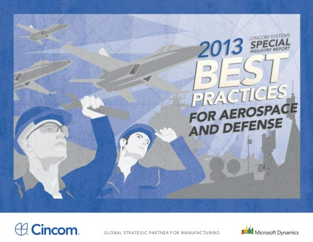 2013 best practices for aerospace and defense