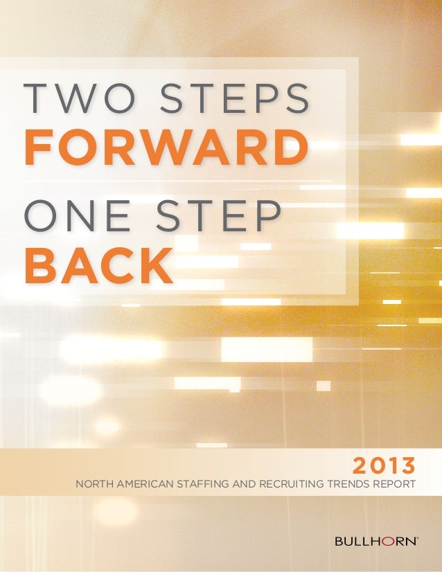 2013 Bullhorn North American Trends Report