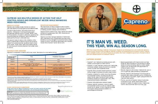 2013 Capreno® Product Bulletin (IFT)