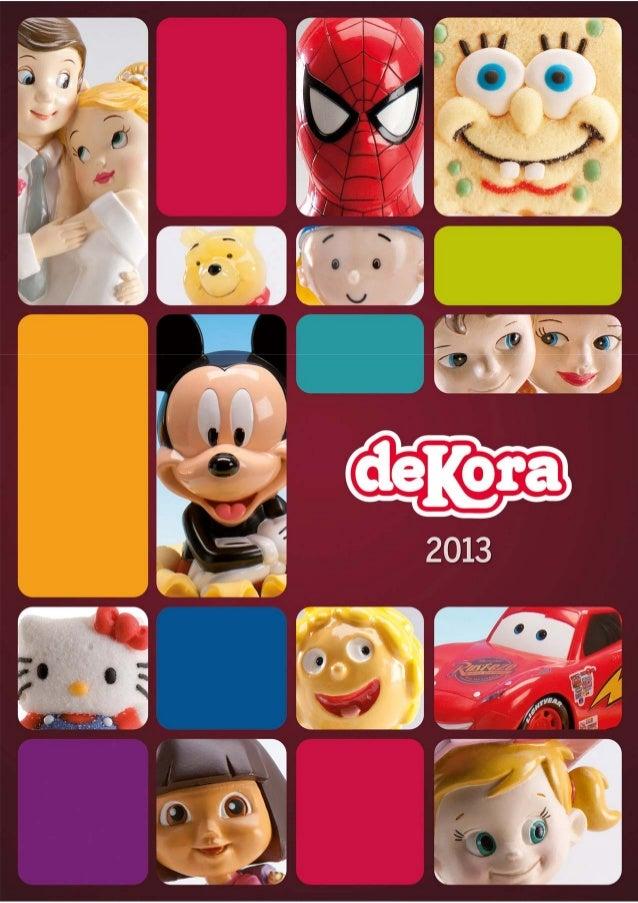 2013 catalogo general dekora