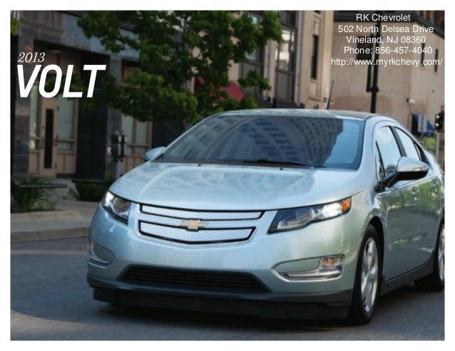 2013 Chevrolet Volt Brochure   South Jersey Chevrolet Dealer