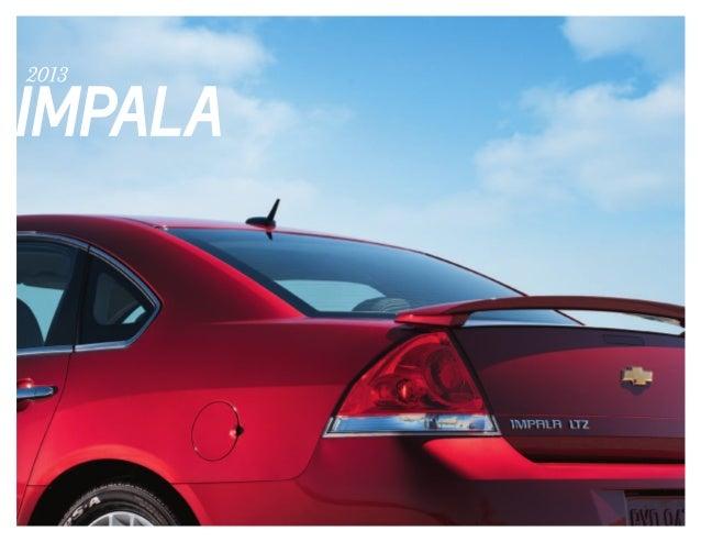 2013 chevy impala e brochure 080812-1-
