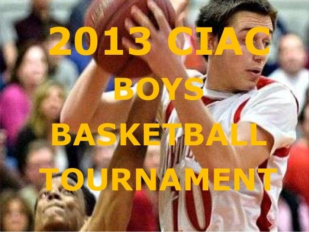 2013 ciac boys bracket print
