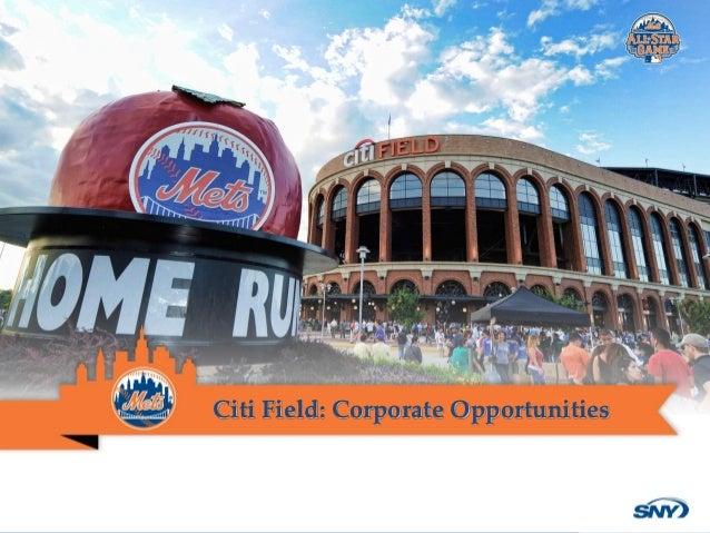 2013 Citi Field Opportunities