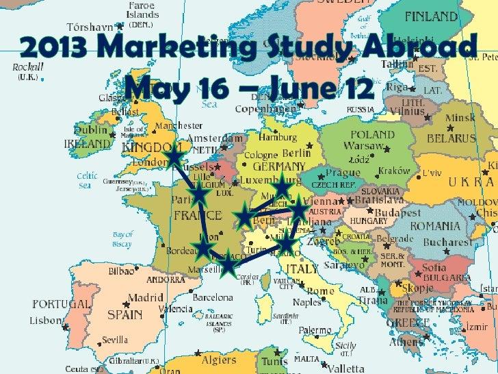 2012 Marketing Study Abroad Trip